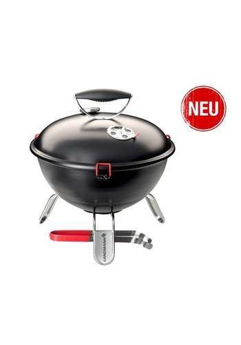Landmann Houtskoolbarbecue - Piccolino - Zwart - 34 cm