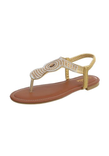 Neckermann Damen Sandalen - Gold