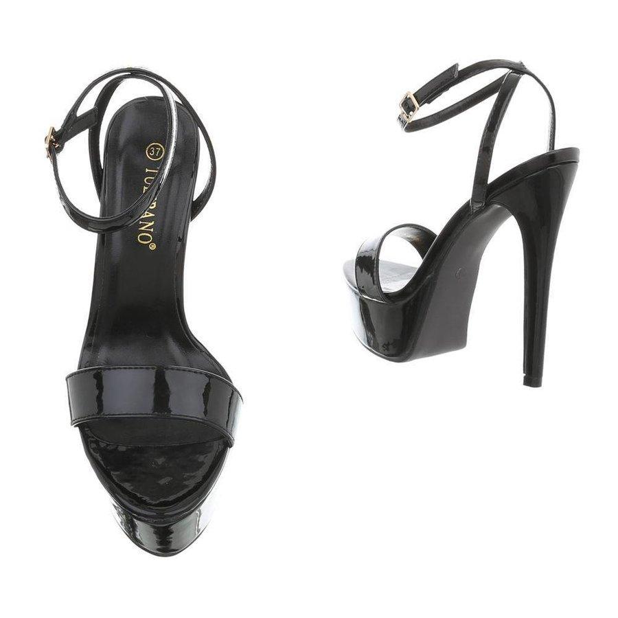 Ladies Open High Heels - schwarz