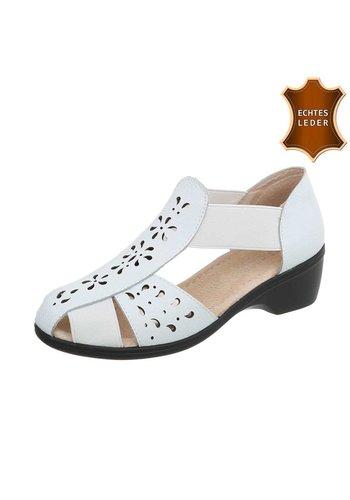 Neckermann Damen Flache Sandalen - white