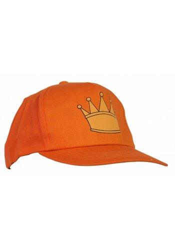 Neckermann Oranje cap met kroon opdruk