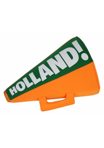 Neckermann Oranje toeter met hoed Holland