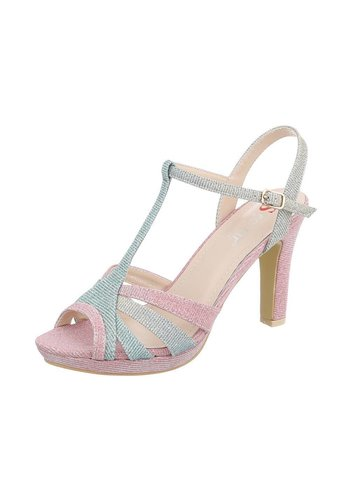 Neckermann Damen High Heels mit Peeptoe - Pink