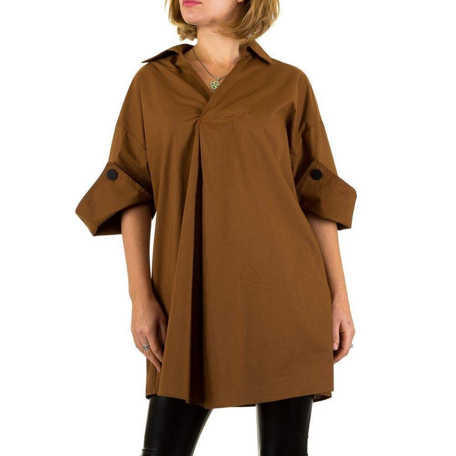 Damen Bluse Gr. one size - brown