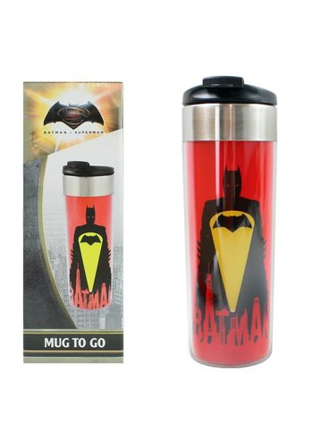 Batman v Superman Drinkbeker- Reisbeker - Mug to go - 400 ml