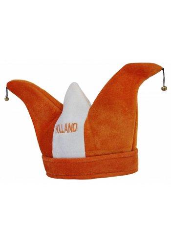 Neckermann Oranje Holland Harlekijn muts