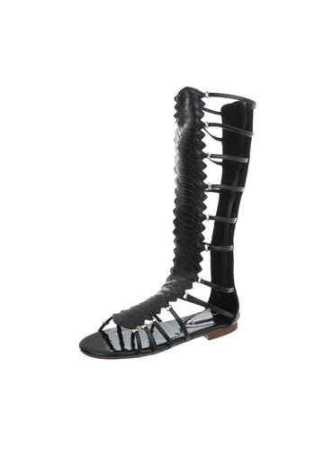 Neckermann Damen Hohe Sandalen - schwarz