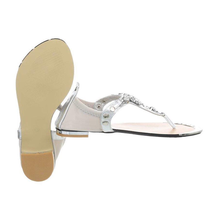 Damen Sandalen - Silber