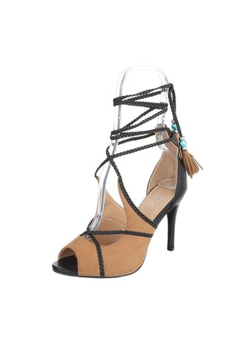 Neckermann Damen Peeptoe - Kamel