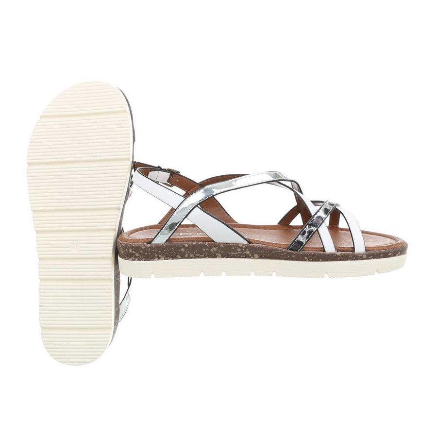 Damen Sandalen - weiß