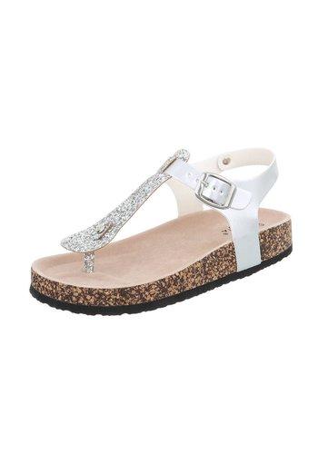 Neckermann Damen Sandalen - Silber