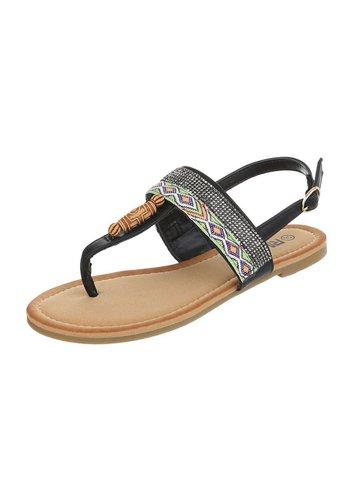 Neckermann Damen Sandalen - schwarz