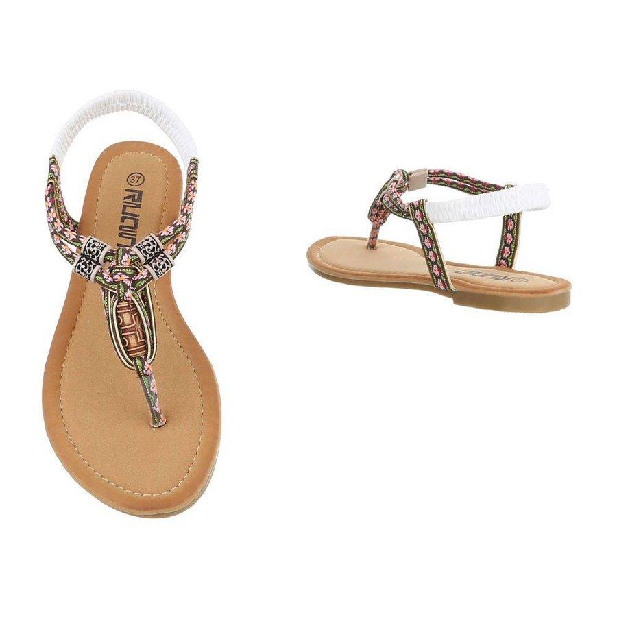 Damen Sandalen - Bronze