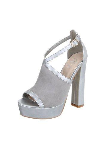 Neckermann Dames Open schoen - grijs