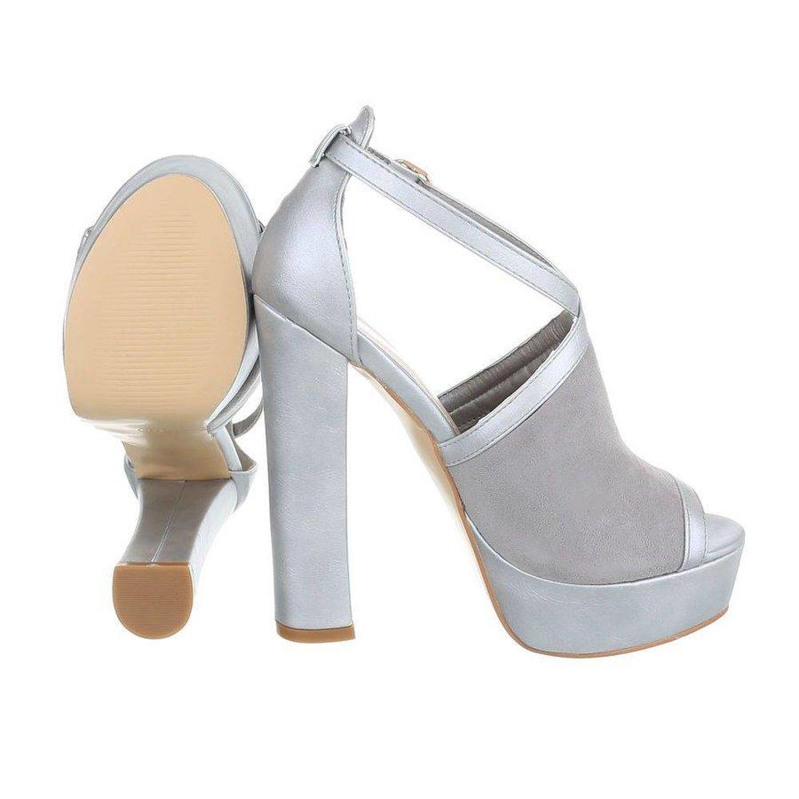 Damen Open Schuh - grau