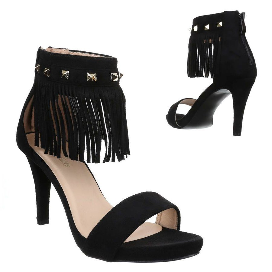 Damen High Heels - schwarz