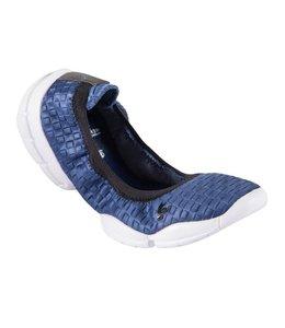 3Pro Ballerina 3Pro Ballerina - Blue/White Textured