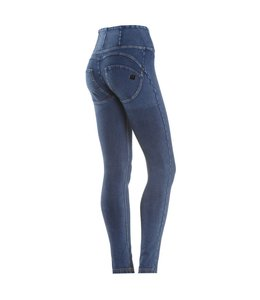 WR.UP® WR.UP® Pantalone Lungo - Blue Denim Effect High Waist