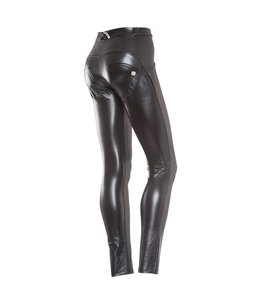 WR.UP® WR.UP® Pantalone Lungo - Black Faux Leather