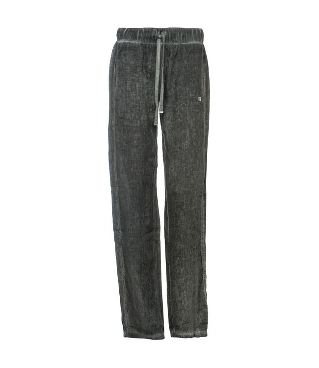 Lounge Wear Pantalone Lungo - Lounge Pants - Black Fleck