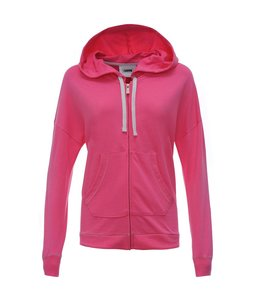 Sweat Top Felpa Cappuccio - Pink Zipper Sweatshirt