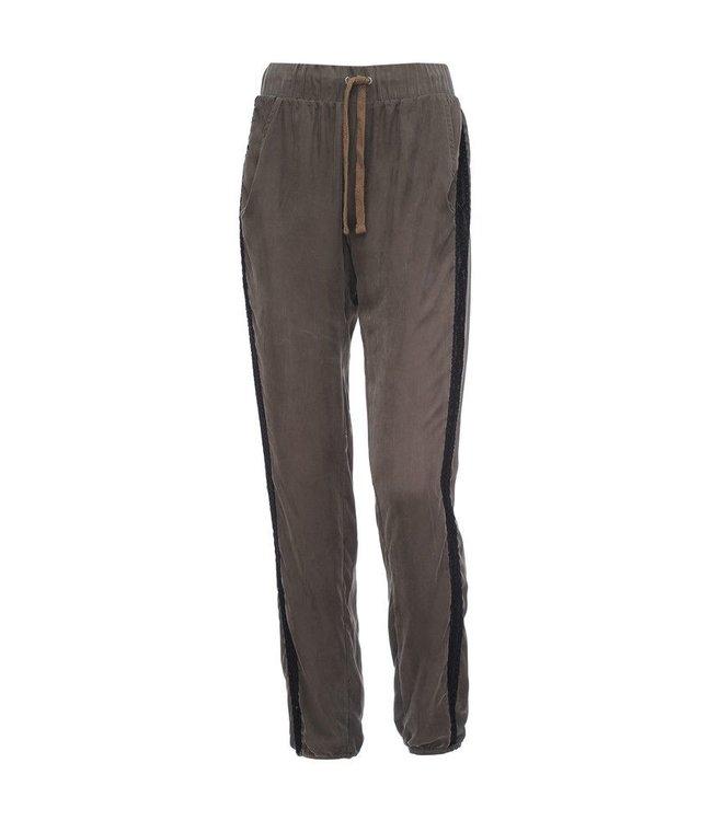 Sweatpants Pantalone Lungo - Olive Green