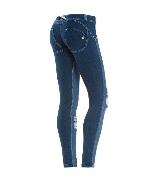 WR.UP® WR.UP® Pantalone Lungo - Blue Distressed Denim