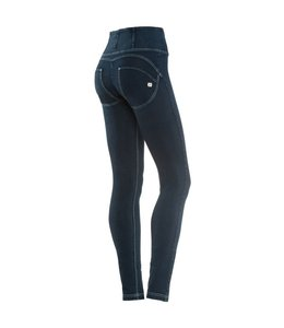 WR.UP® WR.UP® Pantalone Lungo - Dark Blue High-Waist Denim Effect
