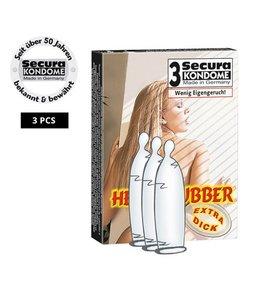 Secura Kondome Secura Heavy Rubber 3 stuks