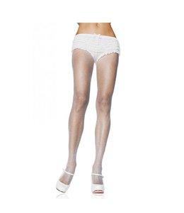 Leg Avenue Nylon Visnet Panty - Wit
