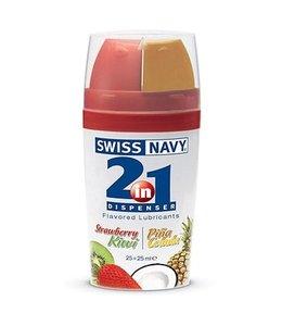Swiss Navy Swiss Navy 2-in-1 Glijmiddel met smaakje