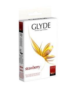 GLYDE Glyde Ultra Aardbei - 10 condooms