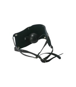 Strict Leather Leather Mouth Gag with Rubber Ball