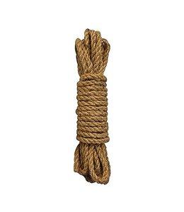 Ouch Shibari touw - 5m - bruin