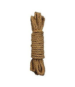 Ouch Shibari Hennep Touw - 10 meter - Bruin