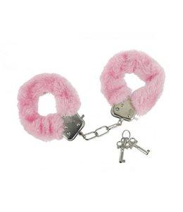 Frisky Caught In Candy Pluche Handboeien - Roze