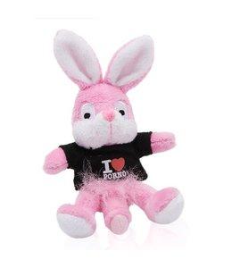 Naughty Bunny Naughty Bunny Magneet - Zwart
