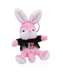 Naughty Bunny Sleutelhanger Naughty Bunny - Zwart