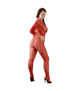 Mandy mystery Line Catsuit rood One Size