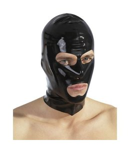 The Latex Collection Zwart Latex Masker