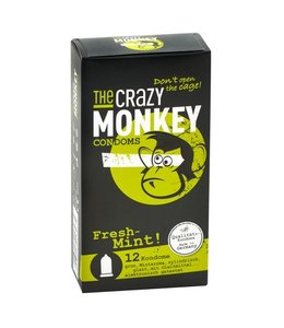The Crazy Monkey TCMC Fresh-Mint! Pack of 12