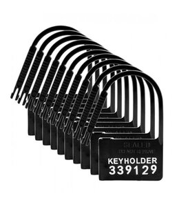 Master Series Keyholder 10 Pack Numbered Plastic Chastity Locks