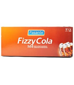 Pasante Condooms met cola smaak 144 stuks
