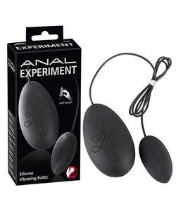 You2Toys Anal Experiment Anaal Vibratie-Eitje - Zwart
