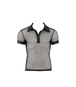 Svenjoyment Underwear Wetlook Shirt voor mannen