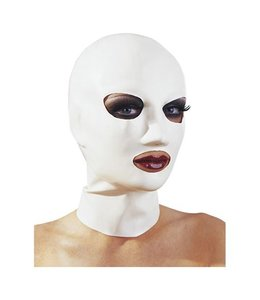 The Latex Collection Latex Masker Wit