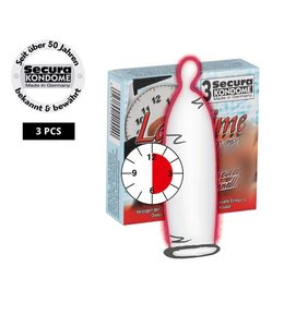Secura Kondome Secura Longtime Lover Condooms -3 Stuks