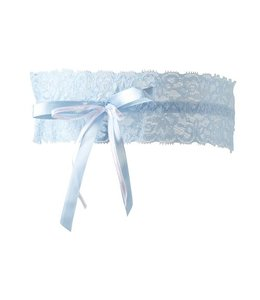 Cottelli Collection Kousenband licht blauw
