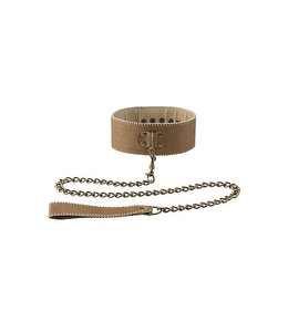 Ouch! Brown Ouch! Brown Halsband Met Ketting