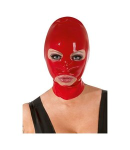 The Latex Collection Latex Masker - Rood